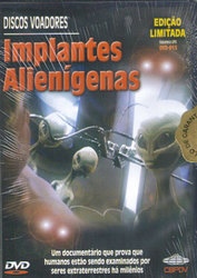 DVD Implantes Alienígenas